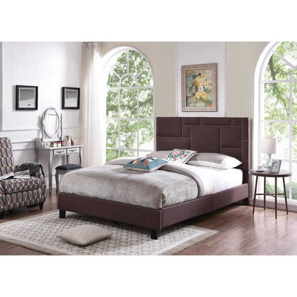 Van Horne Queen Upholstered Standard Bed by Mercer41