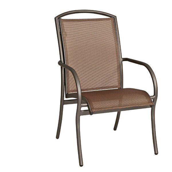 Rivington Sling Stacking Patio Dining Chair by Woodard