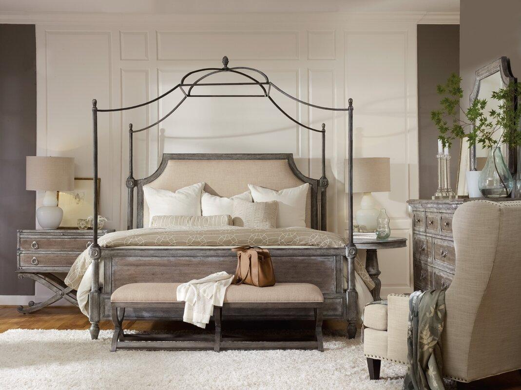 True Vintage Canopy Configurable Bedroom Set