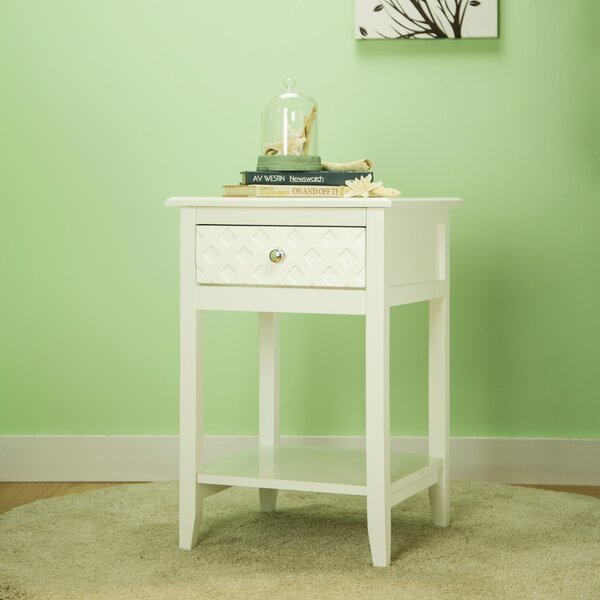 Karly End Table with Storage by Winston Porter
