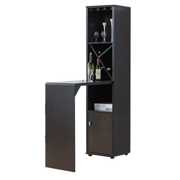 Masardis Wooden Mini Bar with Wine Storage by Brayden Studio Brayden Studio