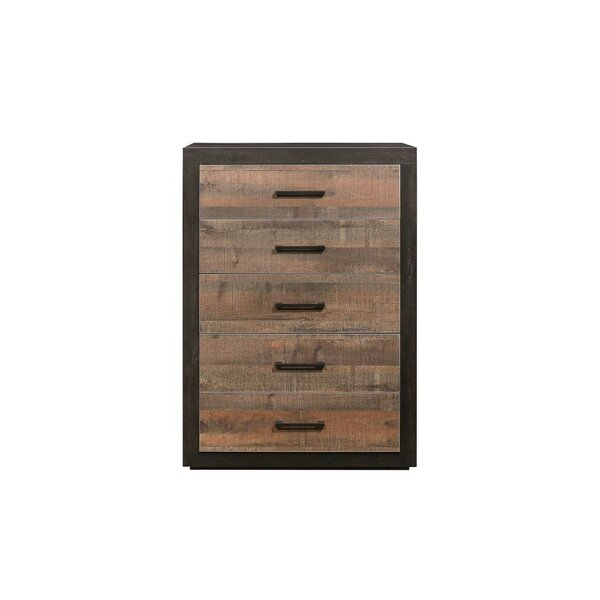 Slade 5 Drawer Standard Chest by Union Rustic