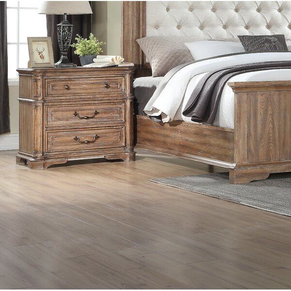 Beckey 3 Drawer Nightstand by Canora Grey