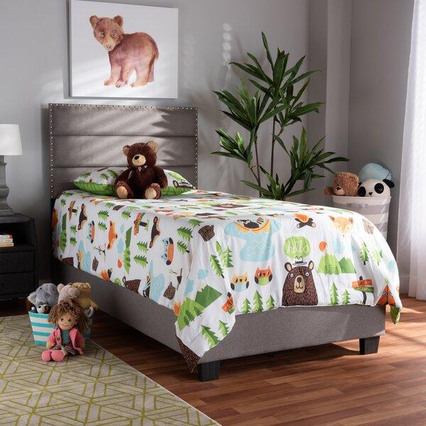 Zenobia Upholstered Standard Bed by Winston Porter