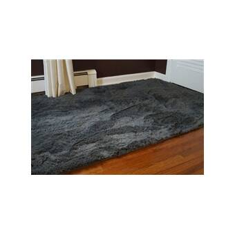 Ebern Designs Ledoux Gray Area Rug Reviews Wayfair