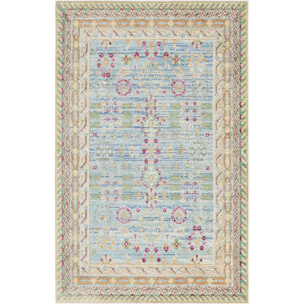 Carrico Blue Area Rug by Mercury Row