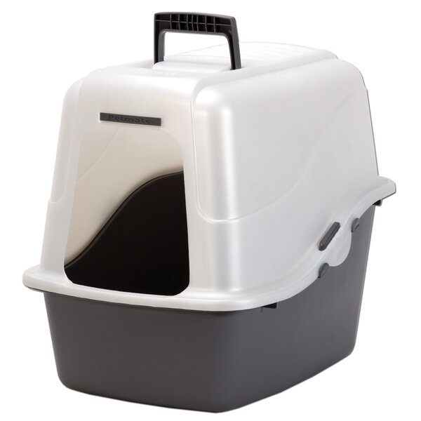 Herman X-Large Deluxe Hooded Litter Box by Tucker Murphy Pet
