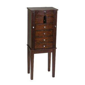 Westfield Wooden Free Standing Jewelry Armoire by Mele & Co.
