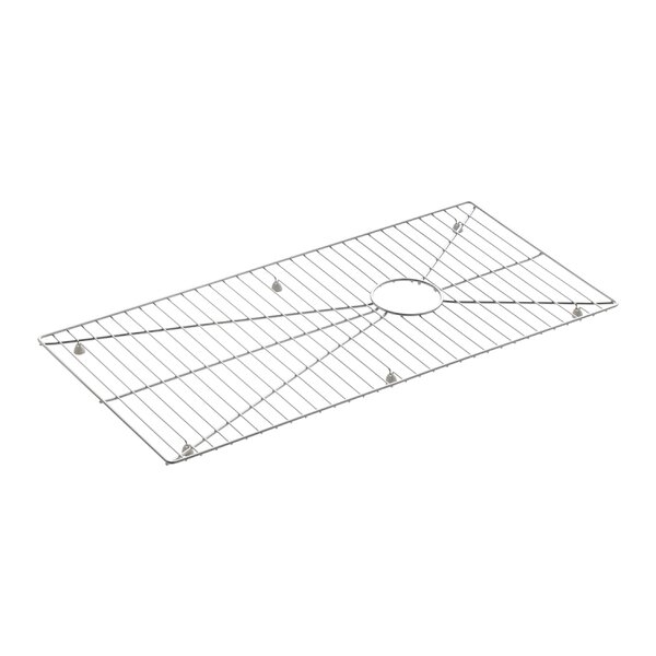 Stainless Steel Sink Rack, 30-31/32 x 15-1/16 for Stages 45 Kitchen Sink by Kohler