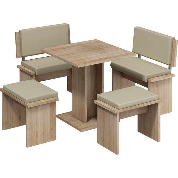 Clarendon 5 Piece Dining Set by Loon Peak Loon Peak