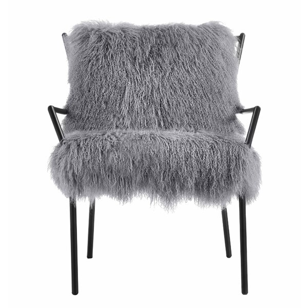Attractive Willa Arlo Interiors Ottavio Sheepskin Armchair U0026 Reviews | Wayfair