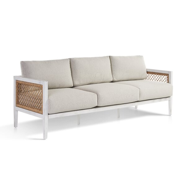 Bonnie Patio Sofa with Cushions by Bayou Breeze