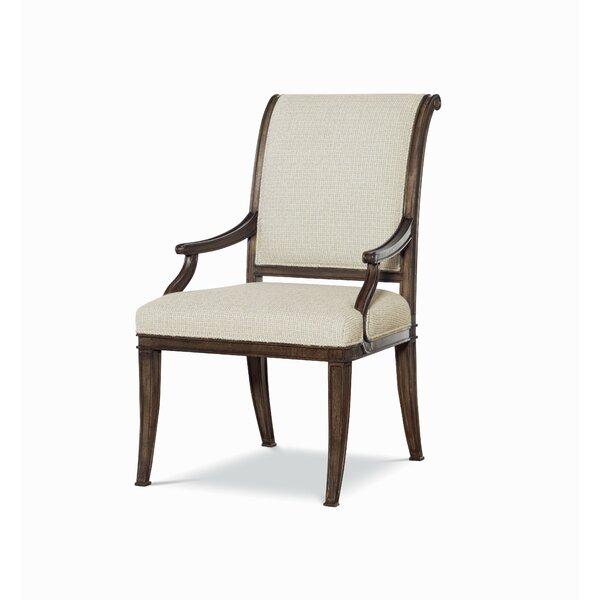 Veranda Upholstered Arm Chair in Beige by Fine Furniture Design Fine Furniture Design