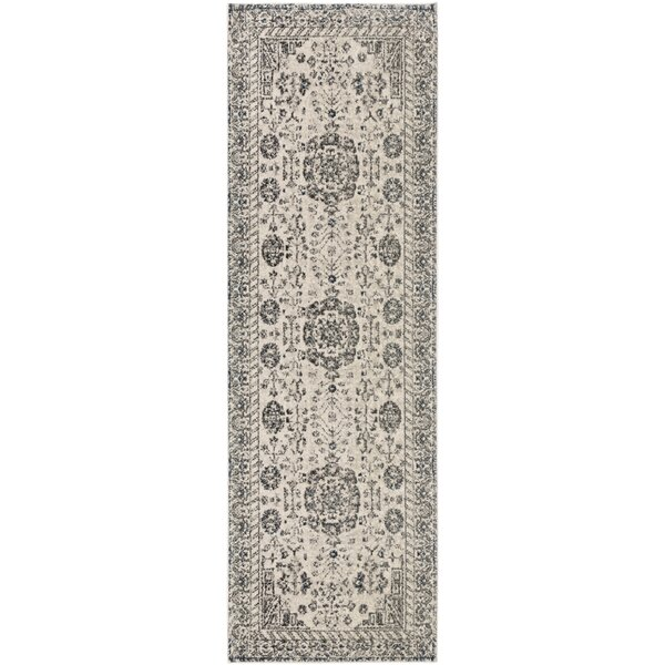Mablethorpe Gray/Ivory Area Rug by Charlton Home