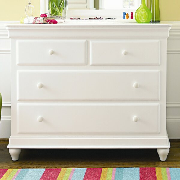 Jacque Modern 4 Drawer Dresser by Canora Grey