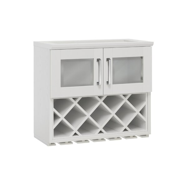 Wall Wine Bar with Wine Storage by NewAge Products