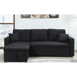 Mullaney Reversible Storage Pull Out Bed Sleeper Sectional
