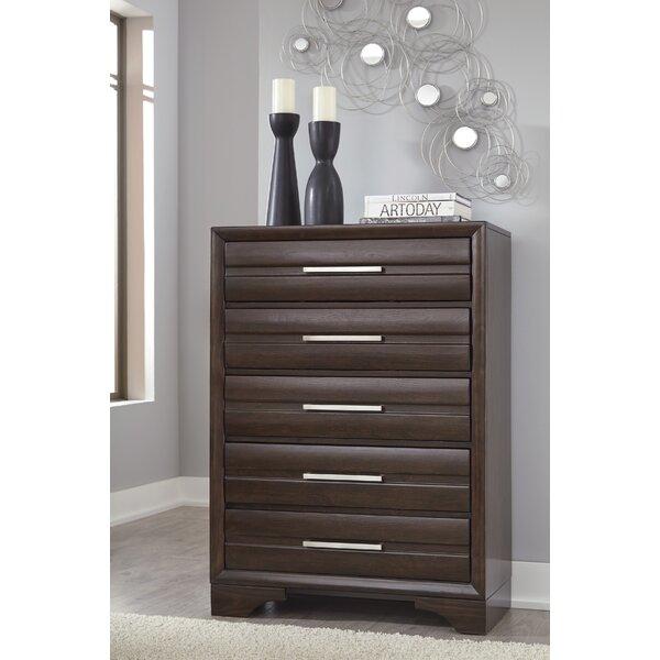 Setzer 5 Drawer Standard Dresser/Chest by Modern Rustic Interiors