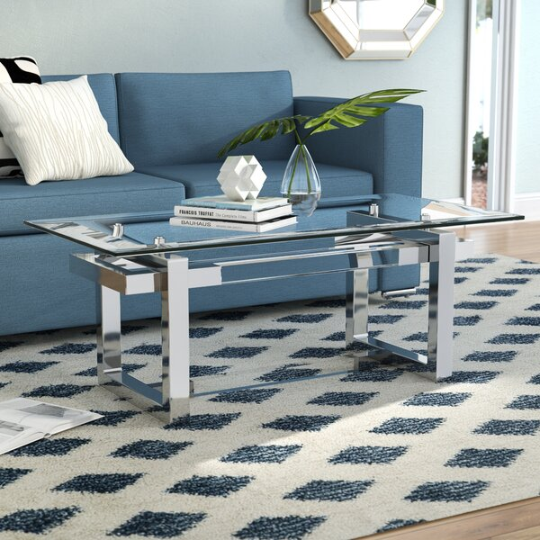Clark Coffee Table with Tray Top by Orren Ellis