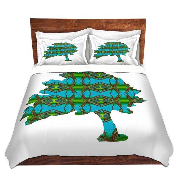 Wax Batik Tree Duvet Cover Set