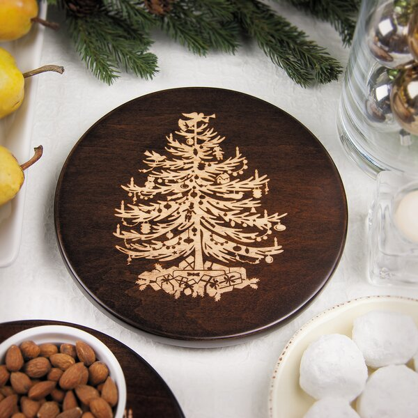 Vintage Christmas Tree Trivet by Martins Homewares