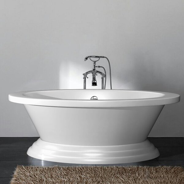 Eva 72 x 24 Freestanding Bathtub by Ancona