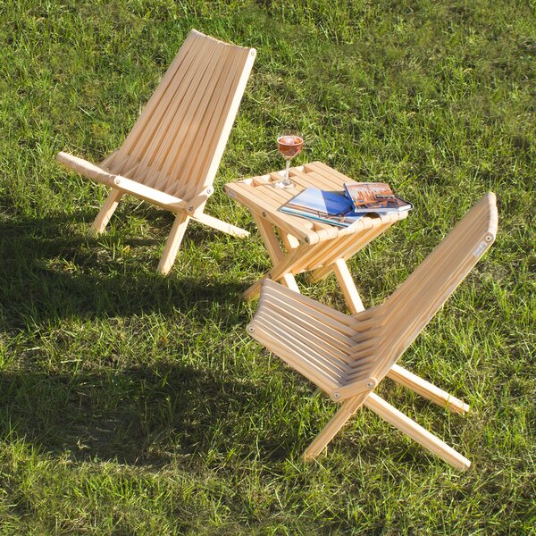 Darold Solid Wood Folding Adirondack Chair (Set of 2) by Union Rustic Union Rustic