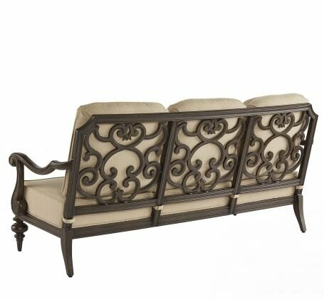 Hargrave Patio Sofa with Cushions by Canora Grey Canora Grey