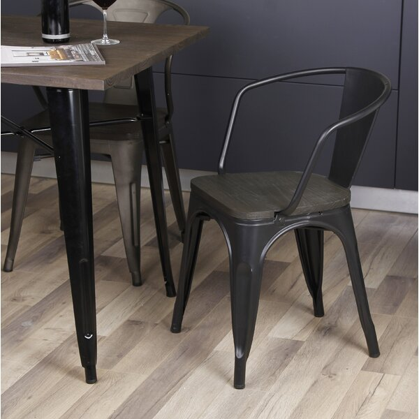 Anni Metal Dining Chair by 17 Stories