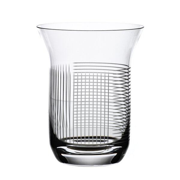 Line 10 oz. Crystal Every Day Glass (Set of 2) by Maryland China