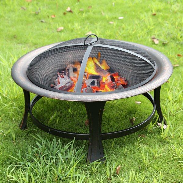 Oath Steel Wood Burning Fire Pit By Ebern Designs