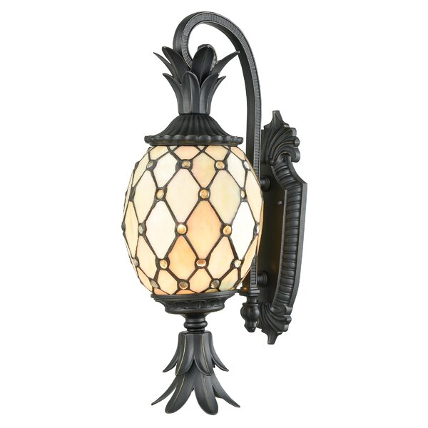 Snead 2-Light LED Outdoor Sconce by Bay Isle Home