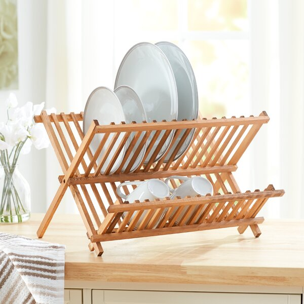 Wayfair Basics Wooden Dish Rack by Wayfair Basics™