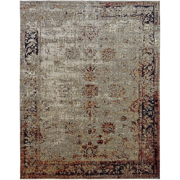 Ruppert Gray Indoor/Outdoor Area Rug by World Menagerie