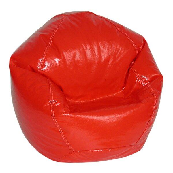 Standard Faux Leather Bean Bag Chair & Lounger By Ebern Designs