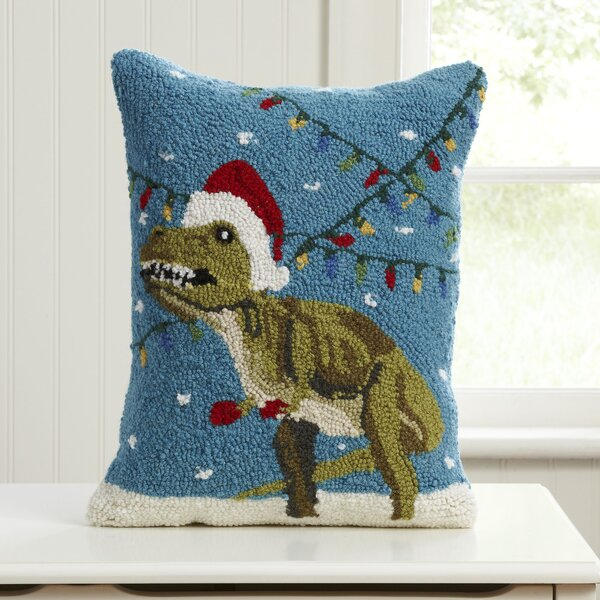 Epoch Christmas Hooked Pillow by Birch Lane Kids™