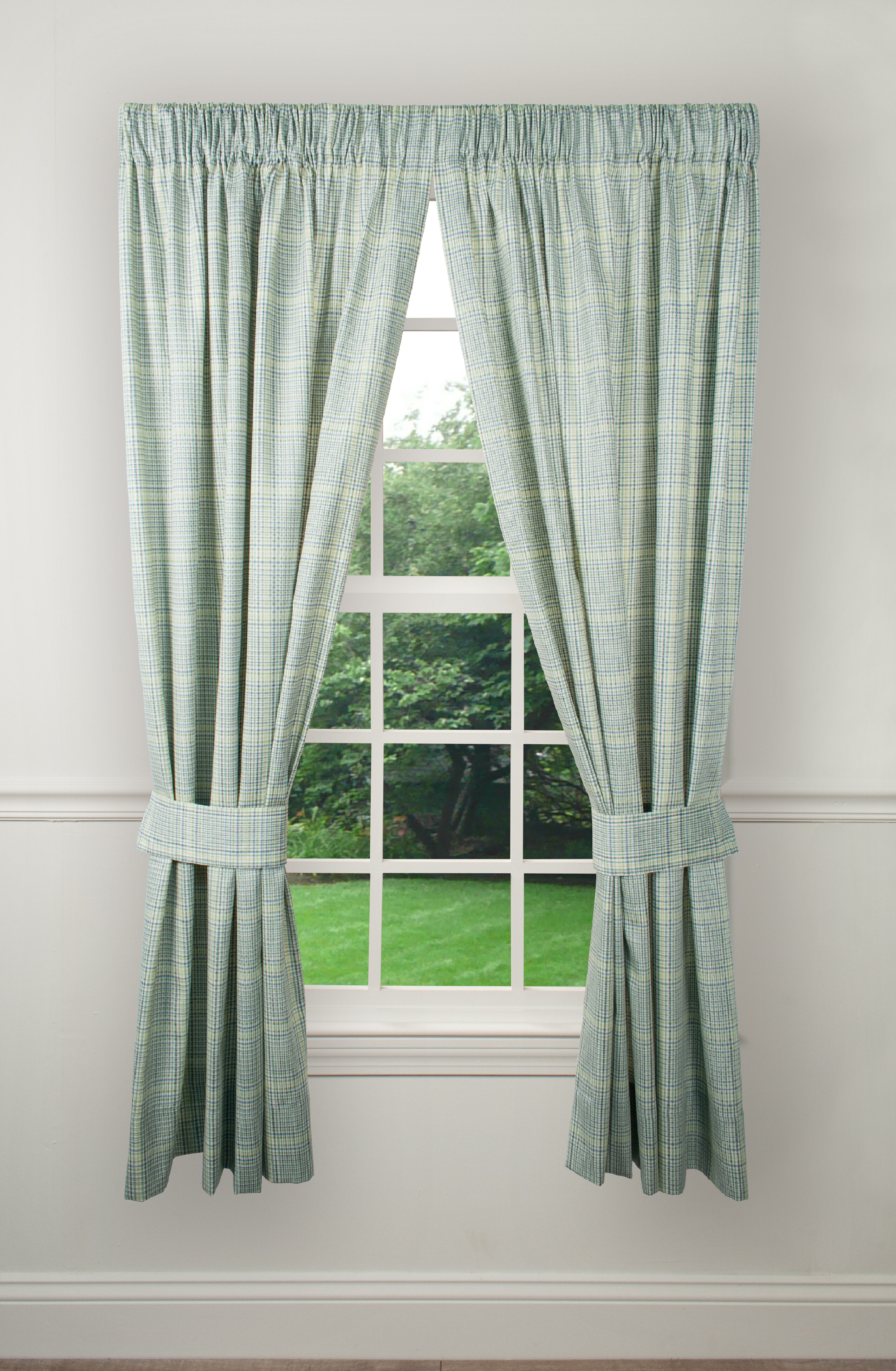 Check Plaid Wide Curtains Drapes You Ll Love In 2021 Wayfair