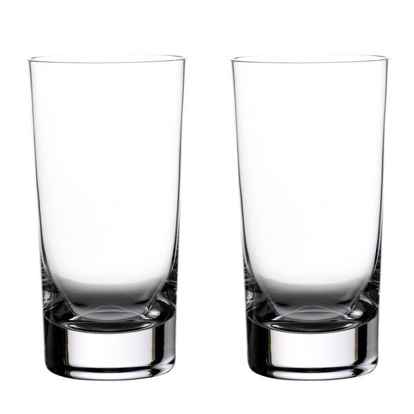 Elegance Hiball 16 Oz. Crystal Highball Glass (Set of 2) by Waterford