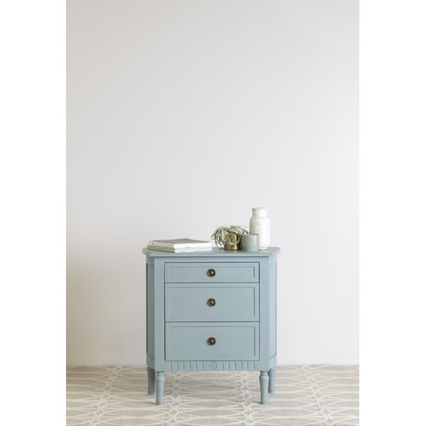 Estevan 3 Drawer Nightstand By Ophelia & Co. by Ophelia & Co. Great price