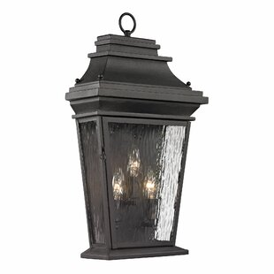 Look for Maxen 3-Light Outdoor Wall Lantern By Alcott Hill