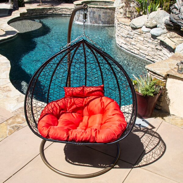 Weisend Double Swing Chair with Stand by World Menagerie