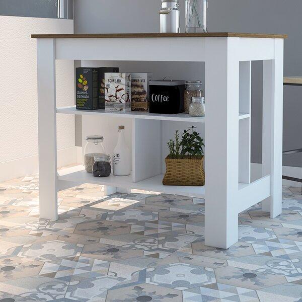 Lockard Kitchen Island by Ebern Designs