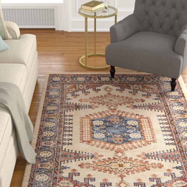 Nathanson Cream Area Rug by Astoria Grand