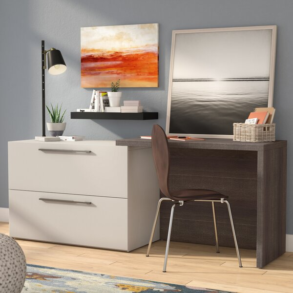 Frederick Sliding Desk by Latitude Run