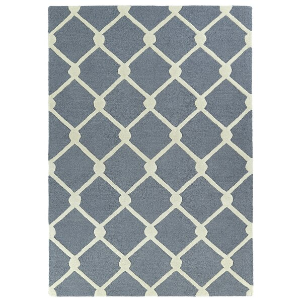 Cogar Handmade Gray Area Rug by Charlton Home