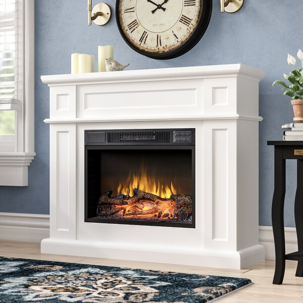 Biermann Electric Fireplace by Charlton Home