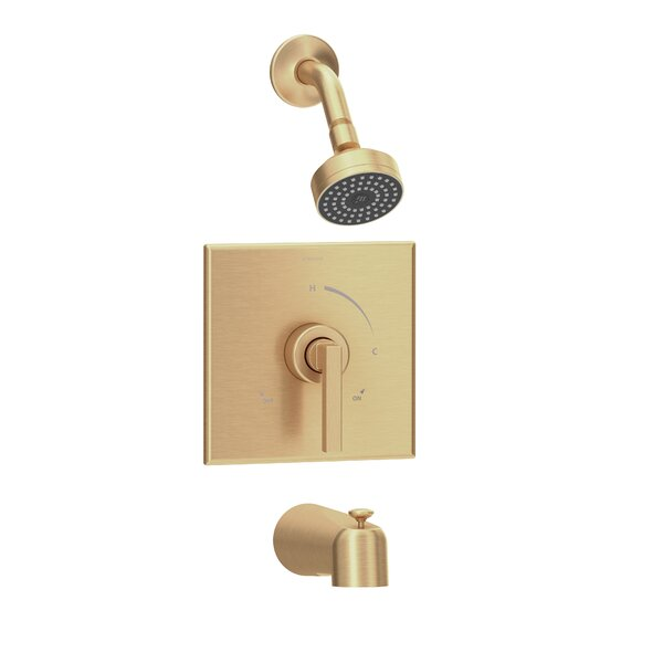 Duro Thermostatic Tub and Shower Faucet by Symmons Symmons