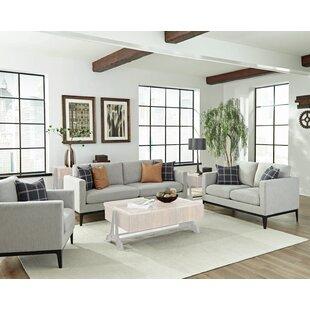 Jesse 3 Piece Living Room Set by George Oliver