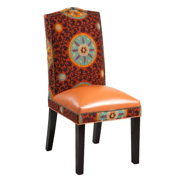 Gabrielle Cotton Parsons Chair (Set of 2) by Loni M Designs