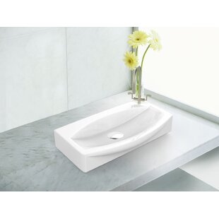 Reviews Ceramic Specialty Vessel Bathroom Sink By Royal Purple Bath Kitchen